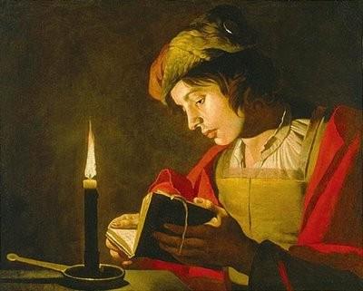 Stomer, lecture du jeune homme à la bougie.jpg