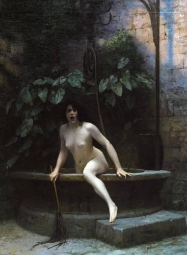 Jean Léon Gérôme La Vérité sortant du puits.jpg