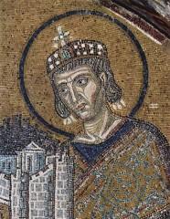 Constantin, à Sainte-Sophie.jpg