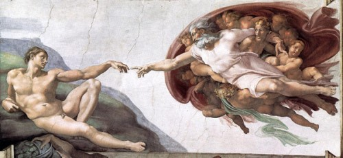 Création Adam. Michel Ange.jpg