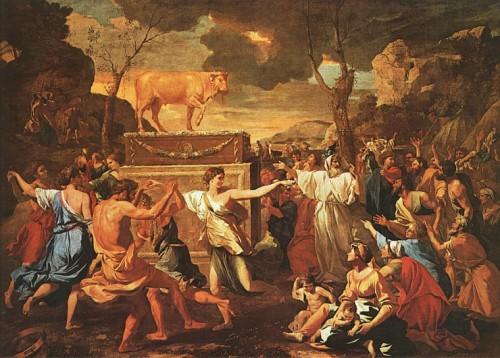 Poussin, adoration du veau d'or.jpg